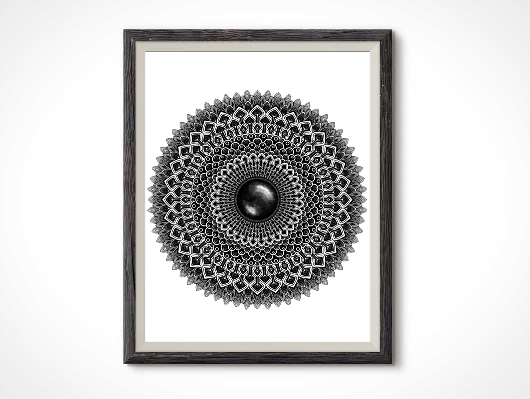 Black-Gemstone-Mandala