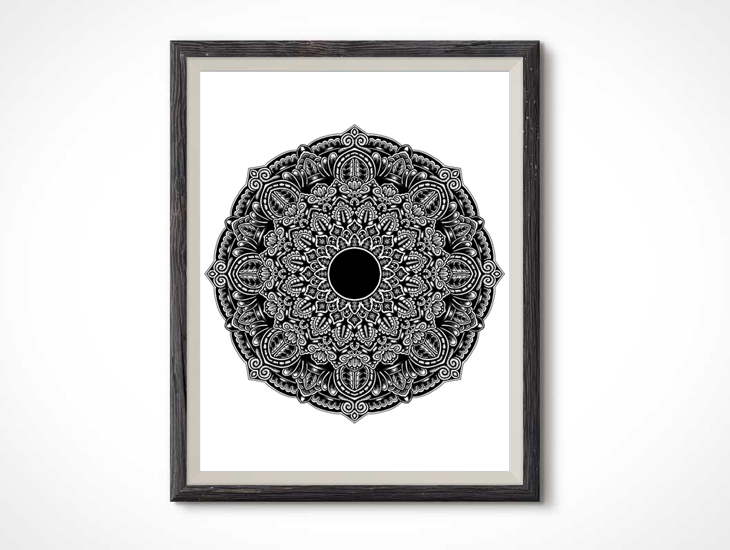 Shaded-mandala