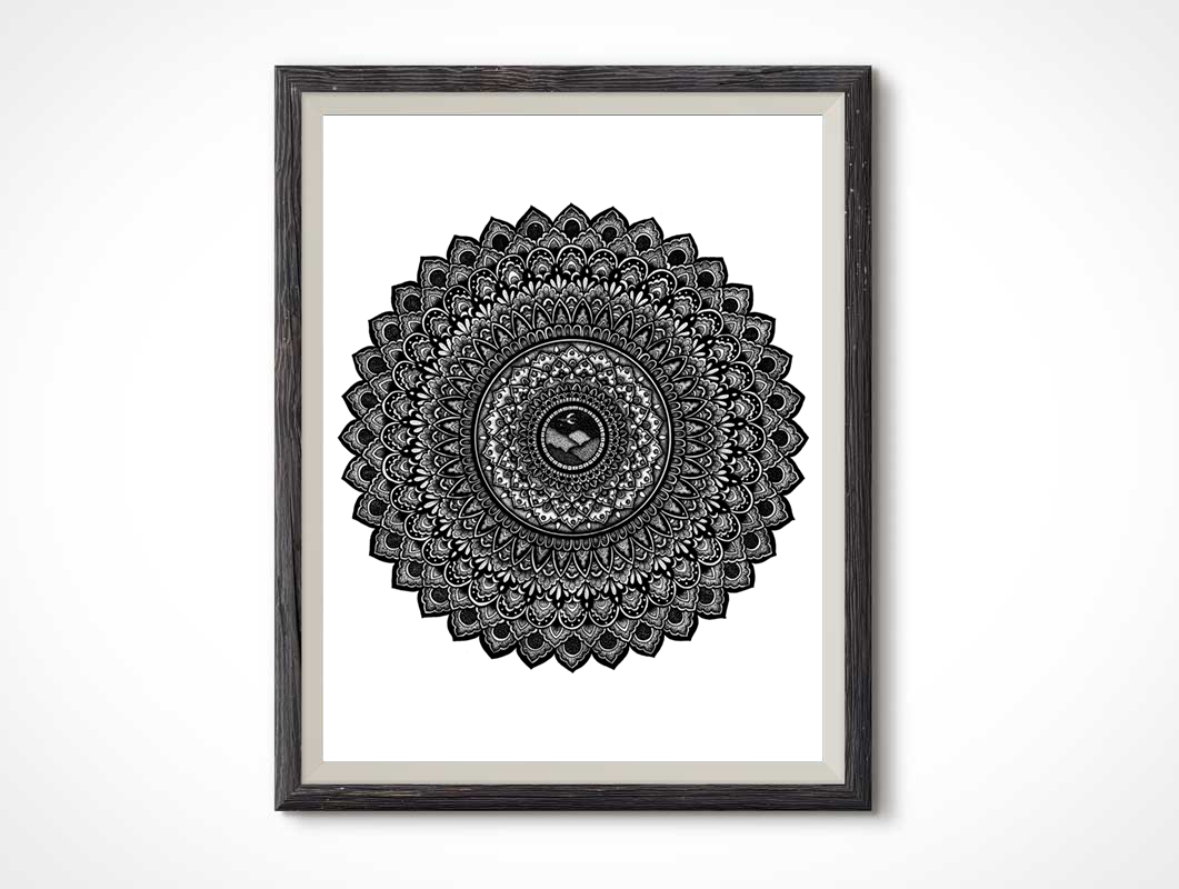 Stipple-Mountains-Mandala