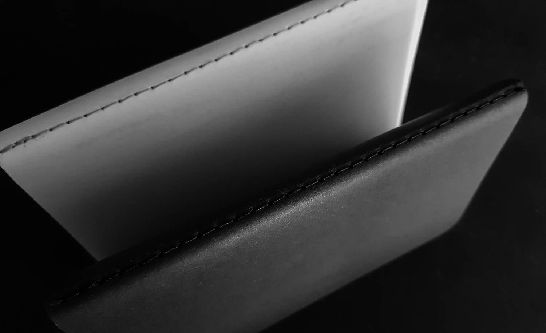Saddle-stitched binding