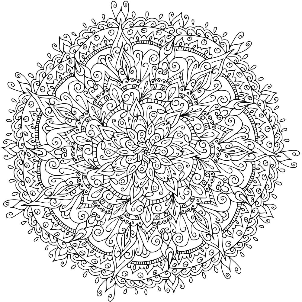 Line Art Krita : Bumper pack of mandalas