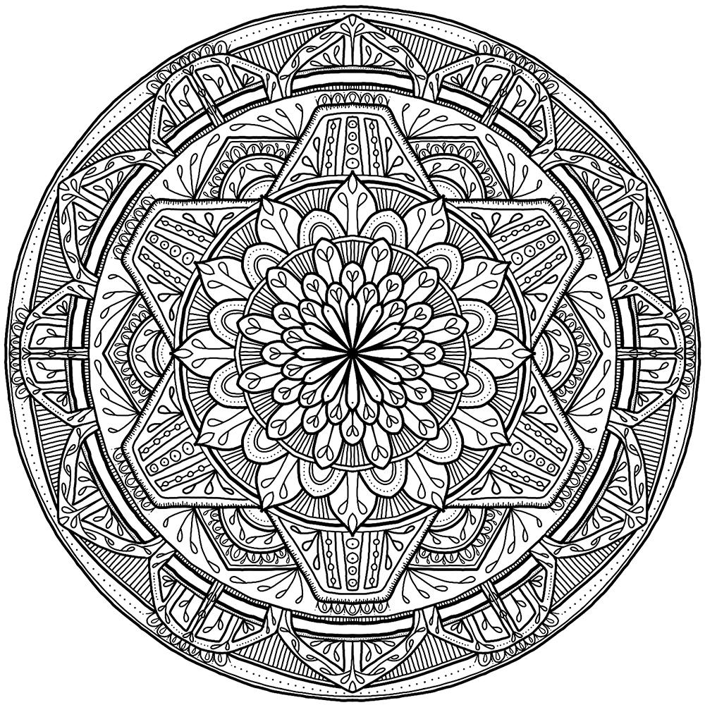 Krita Circles Mandala 7