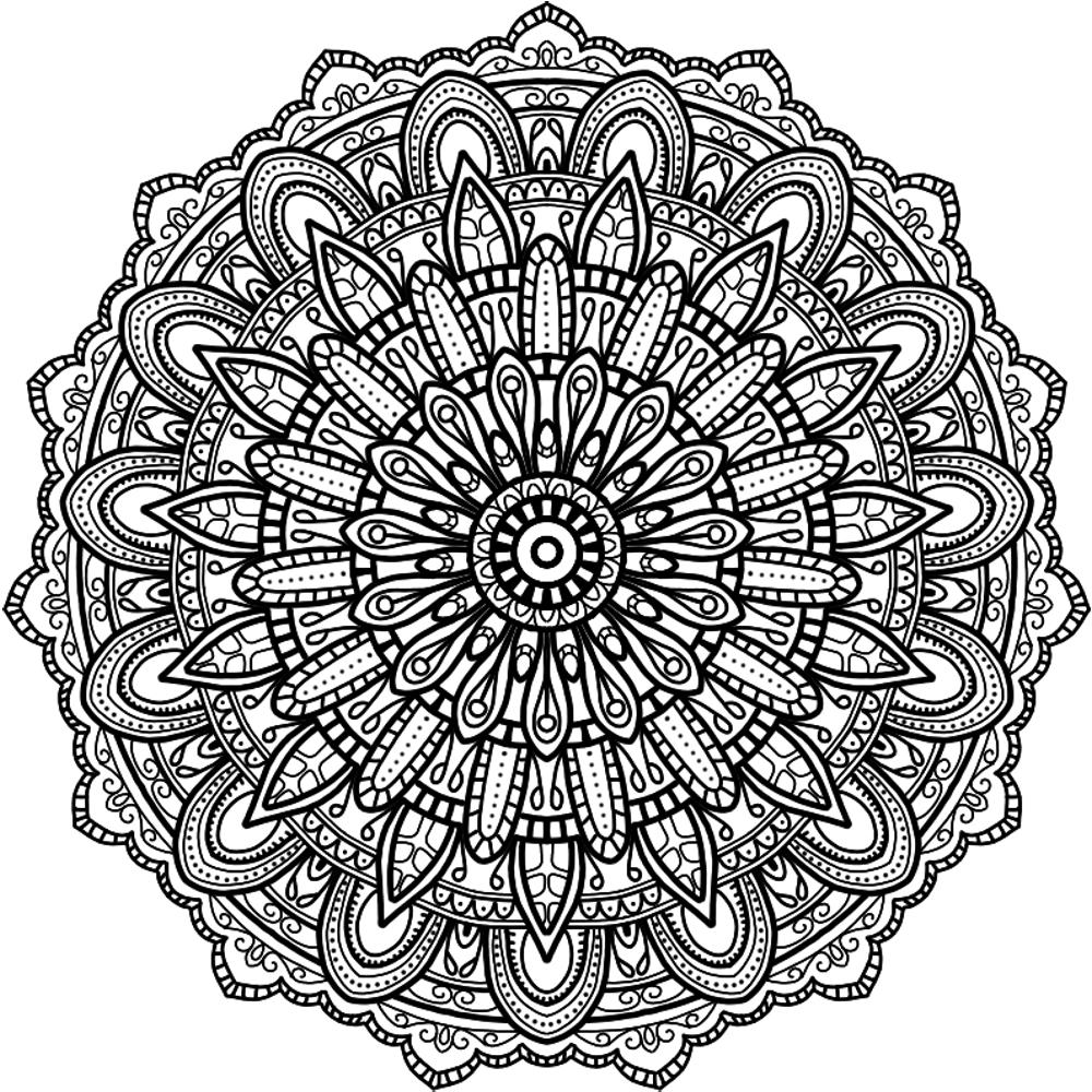 Krita Circles Mandala 8