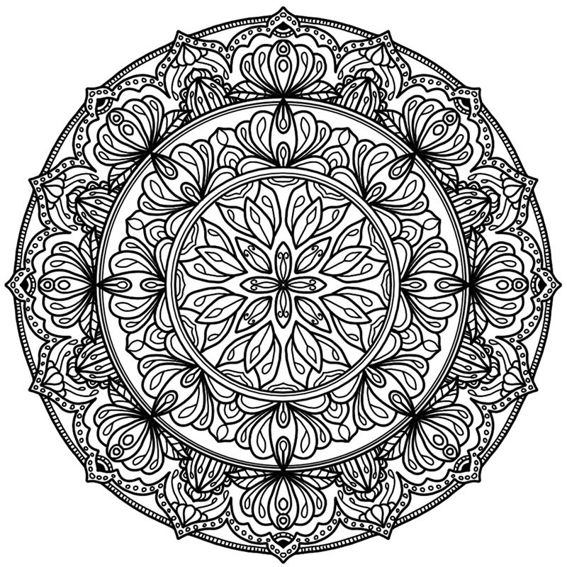 Krita Circles Mandala 10
