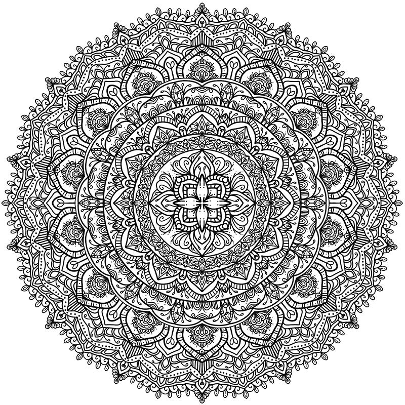 Krita Circles Mandala 9