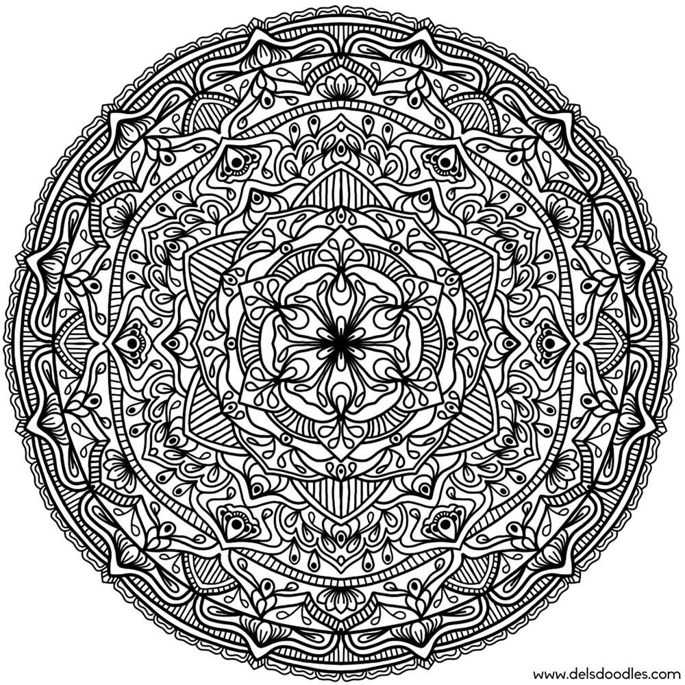 Krita Mandala 16