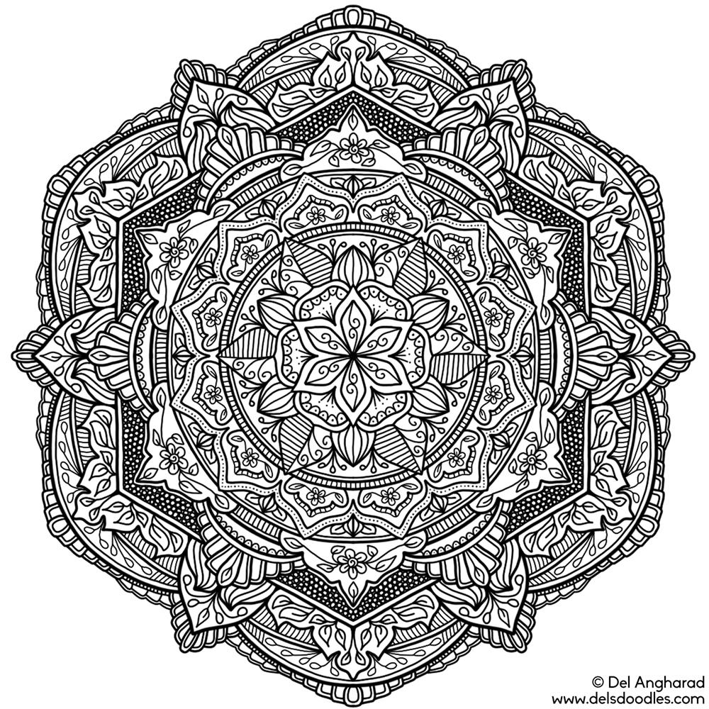 Krita Mandala 23