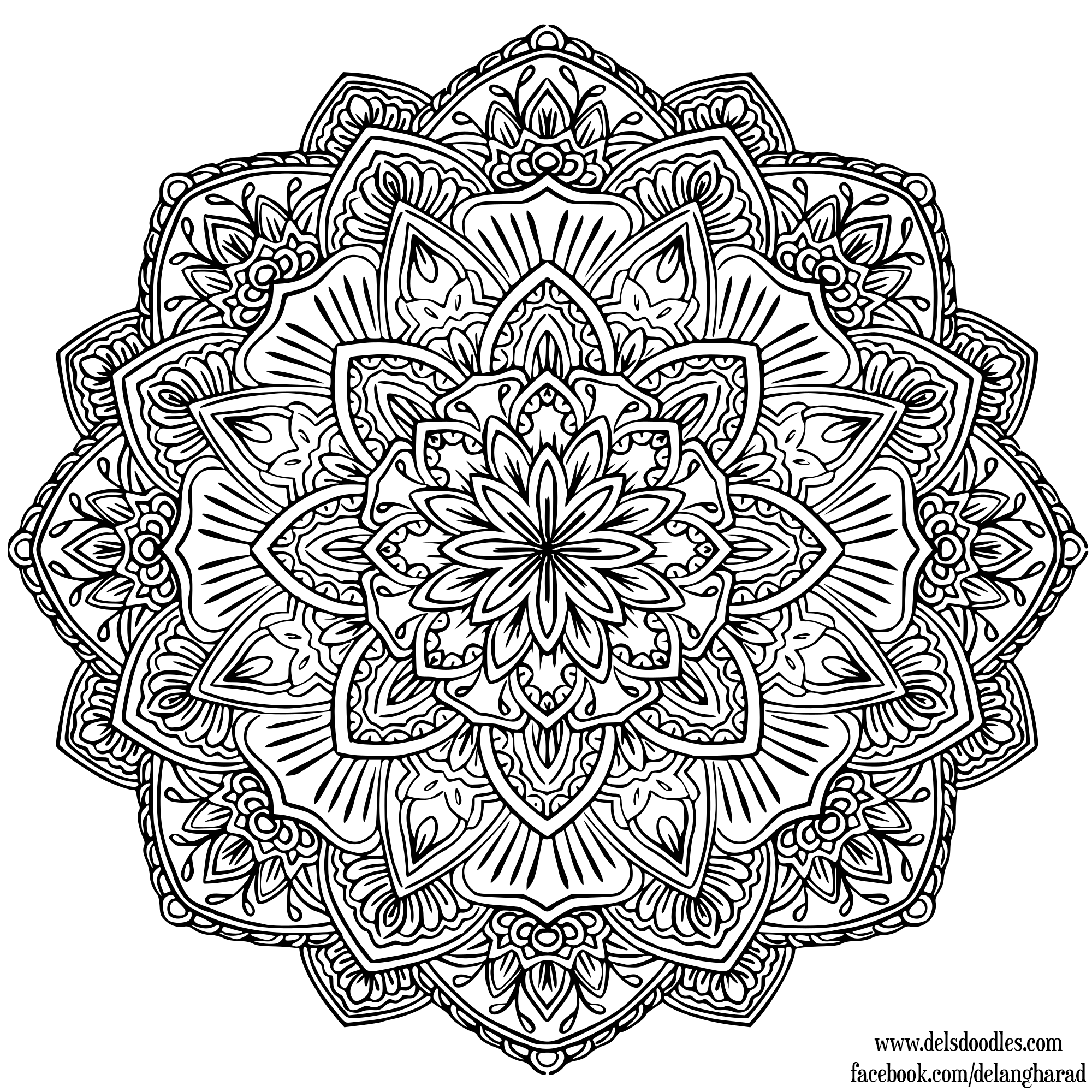 small coloring pages for adults - photo#2