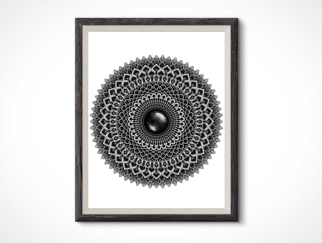 Black-Gemstone-Mandala