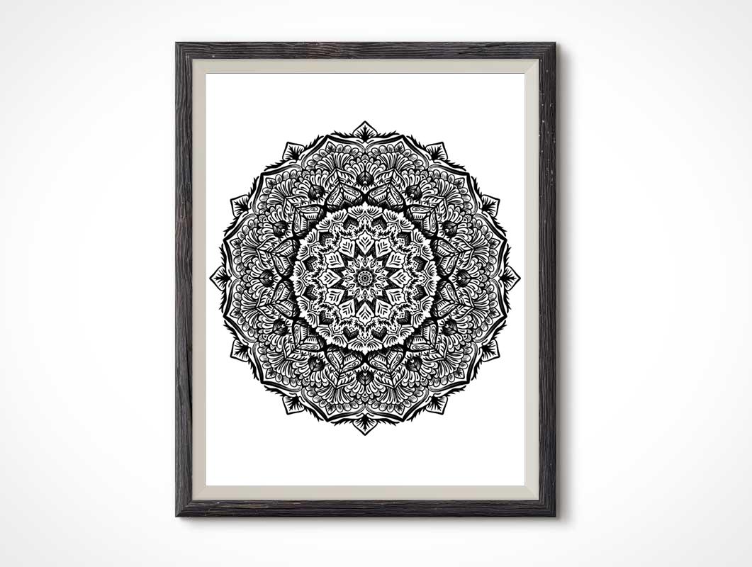 Sketchy-Mandala