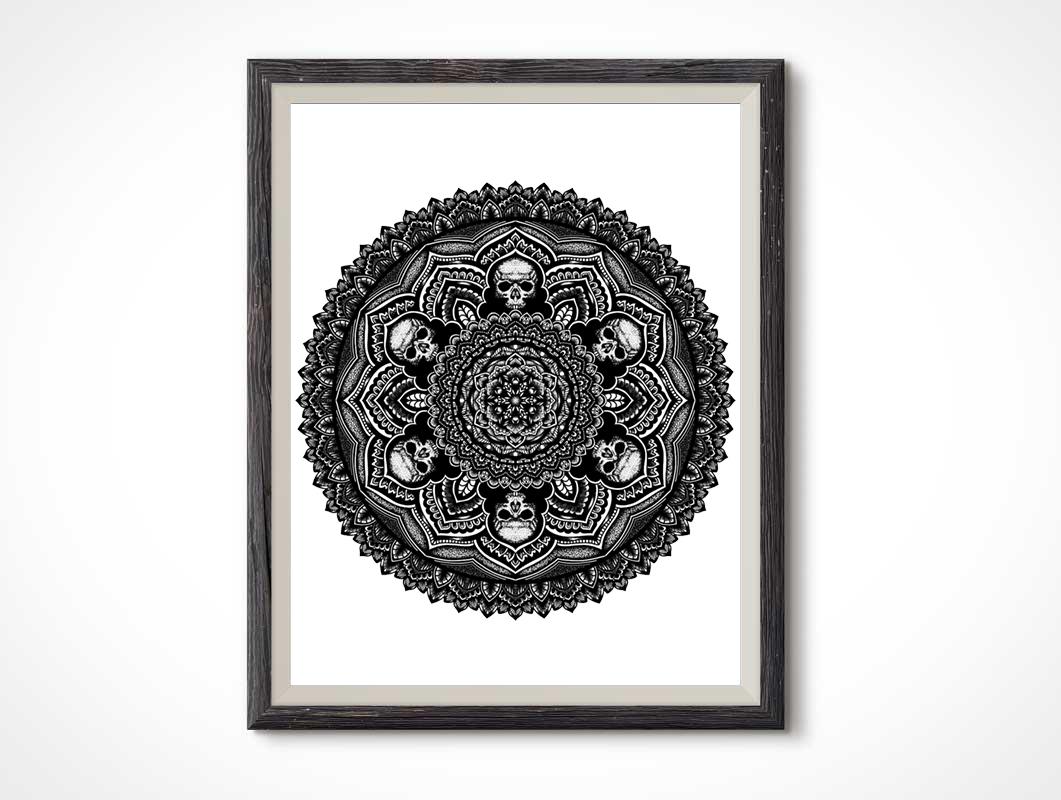 stipple-skulls-mandala